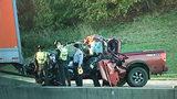 Deadly crash shuts down northbound I-85 near Exit 30