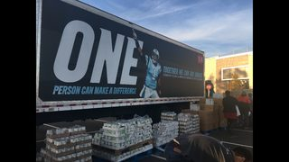 IMAGES: Newton helps feed 800 children in need