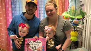 AMAZING NEWS: Formerly conjoined Mooresville twins head home