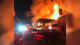 Massive fire rips through downtown Chesterfield businesses