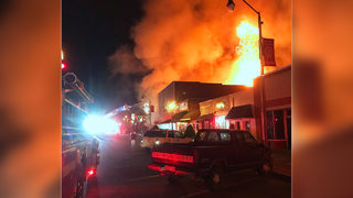 Massive 4-alarm fire rips through downtown Chesterfield businesses