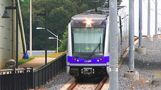 LYNX Blue Line repair work done, trains resume service