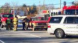 High school student killed when log crashes through windshield