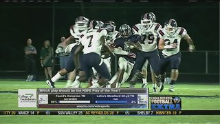 HSFE: Week 16: Play of the Year