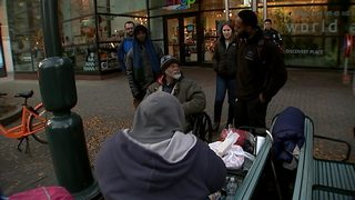 Advocates hope to keep homeless warm as temps drop