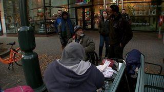 Advocates hope to keep homeless warm as temps drop