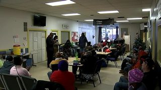 Some warming shelters at capacity as cold weather settles in