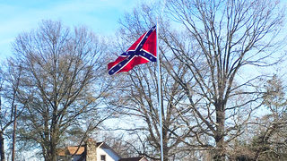 Large Confederate flag flying in Catawba Co. stirs up controversy