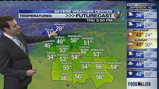 FORECAST: Highs bounce back into the 50s under sunny skies