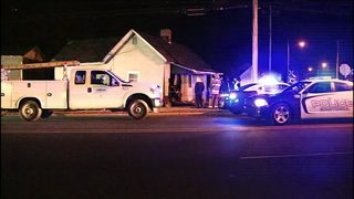 Car involved in chase crashes through Gastonia house, injuring 2