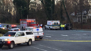 Child dies in Morganton wreck, officials say