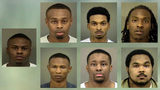 Seven members of the group, FreeBandz Gang, face charges over a $1.2 million bank and identity theft scheme, according to documents. (WSOCTV.com)