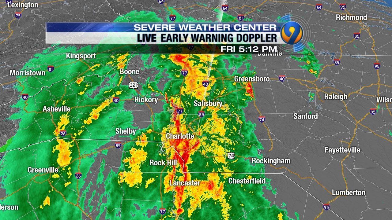 Tv Weather Map.Charlotte News Videos Wsoc Tv