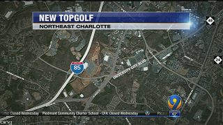 2nd Topgolf coming to Charlotte