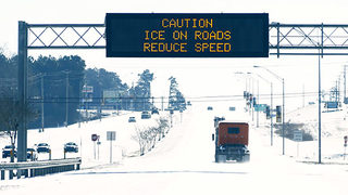 Drivers urged to exercise caution as focus shifts to icy roads