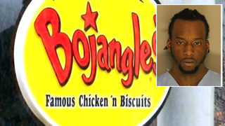 Suspect who fled from deputy found eating at Bojangles