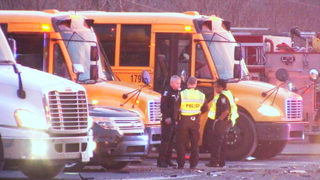No students hurt in crash involving school bus on Albemarle Road