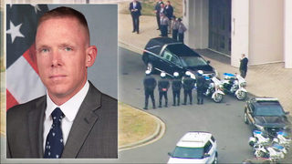 Thousands pay tribute to slain York County Det. Mike Doty