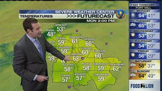 FORECAST: Mild temps linger; rain, thunder, wind expected overnight