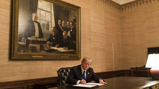President Trump signs bill reopening government