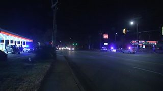 Pedestrian killed crossing north Charlotte street