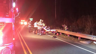 Man seriously hurt during overnight hit-and-run crash in Harrisburg