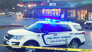 Woman shot, killed at popular Peach Stand; man taken into custody
