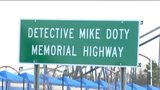 Fort Mill and the Channel 9 news team went blue on Friday to honor fallen York County deputy Mike Doty on what would have been his 38th birthday.