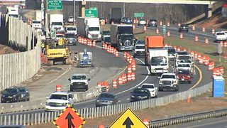 I-77 Construction Crashes: Nearly 1,800 crashes reported