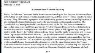 Congress goes home for 10 day break with no deal on DACA, Dreamers