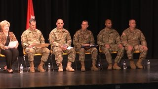 NC Army National Guard members honored ahead of deployment