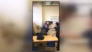 Guilford Co. substitute teacher fired after video surfaces showing him slam student