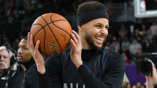 LeBron James, Steph Curry lead hand-picked teams into NBA All-Star Game