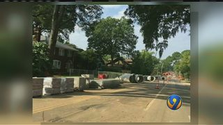 Neighbors losing patience with Charlotte streetcar construction