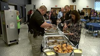 School group organizes appreciation dinner for law enforcement officers