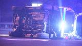 Suspected drunken driver splits power pole in half in north Charlotte