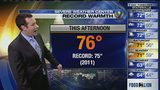FORECAST: Temps threaten to break record highs as warming trend continues