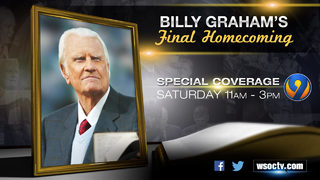PROGRAM NOTE: WSOC-TV to air 2 Billy Graham specials