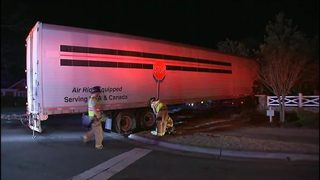 Tractor-trailer involved in two-vehicle crash in Concord