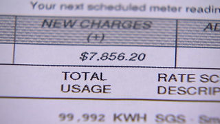 Local family gets $7,800 power bill
