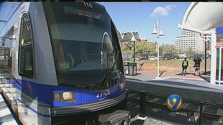 Riders get first impression of LYNX Blue Line Extension