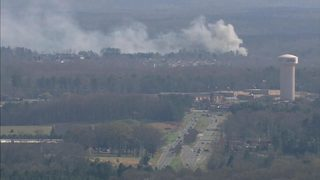 IMAGES: Fire destroys homes in the Sun City community in Lancaster County