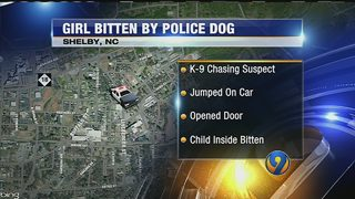 Shelby K-9 bites 4-year-old girl, officials say