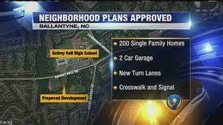 Development approved near Ardrey Kell High