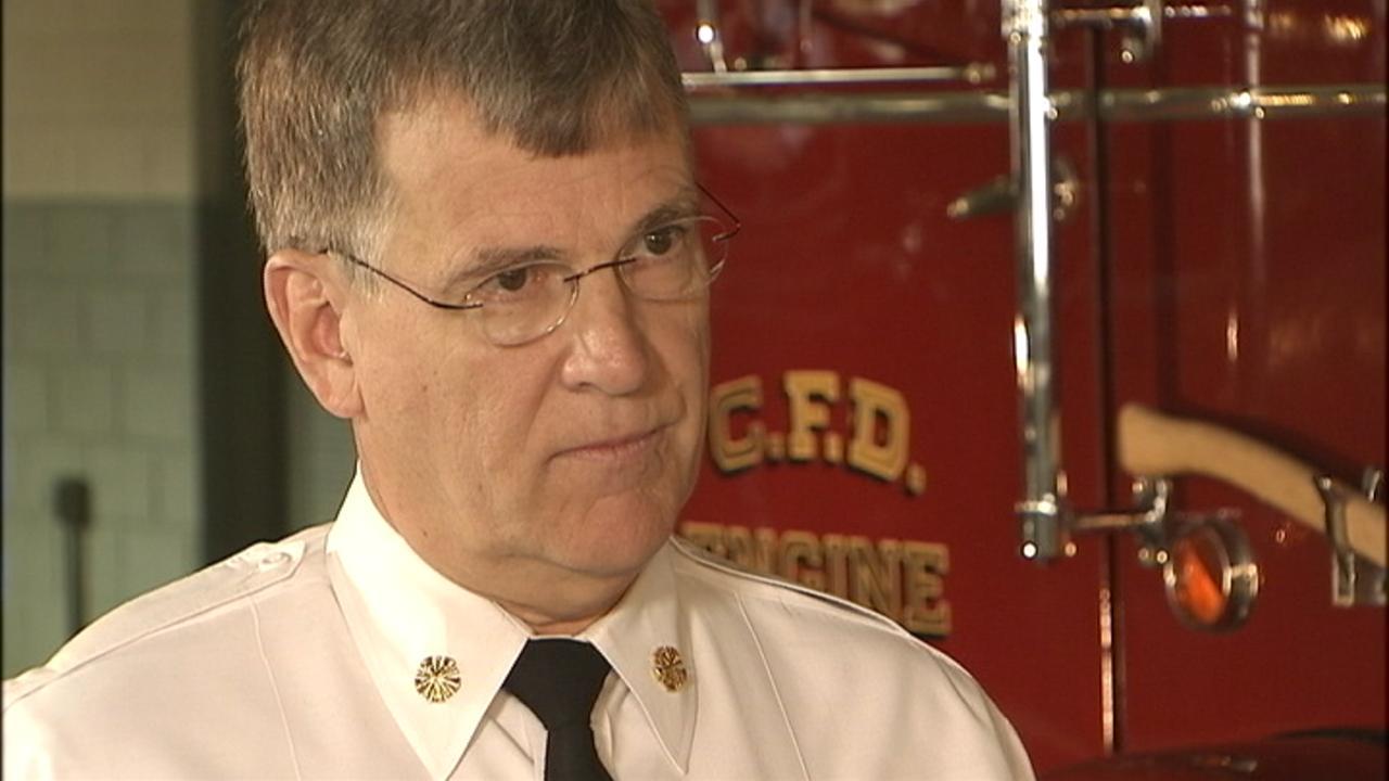 Former Charlotte Fire Chief Jon Hannan