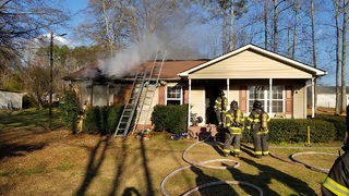 5 displaced in Kannapolis house fire