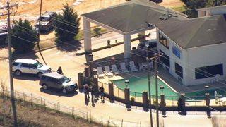 US Marshals involved in standoff at Kannapolis Motel 6