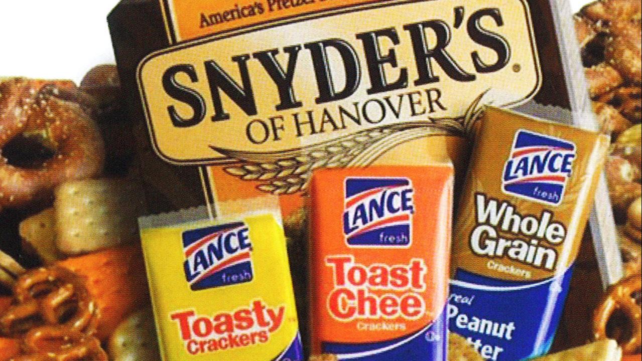 SNYDER'S-LANCE SALE: Charlotte-based Snyder's-Lance snack company