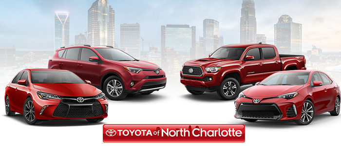 Toyota Of North Charlotte, Your Friendly NC Toyota Dealer!