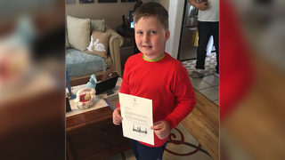 Boy who wrote letter to Trump for new kidney for dad gets his wish